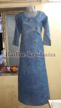 Ladies Denim Kurti 01