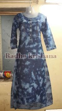Ladies Denim Kurti 02