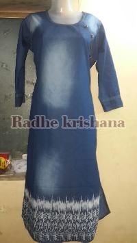 Ladies Denim Kurti 06