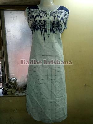 Ladies Long Kurtis 09