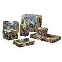 Gemstone Bath Accessories