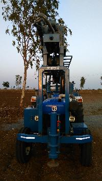 Tractor Mounted DTH Rig 05