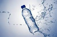 Drinking Bottled Mineral Water