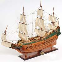 Batavia Wooden Model Ship
