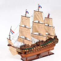 Friesland Wooden Model Ship