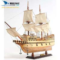 Mayflower Wooden Model Ship