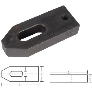 Adjustable Clamp with thread for adjusting screw