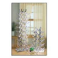 Aluminum Wine Bottle Rack 1