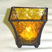 Glass T-Light Holder