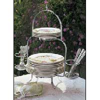 Silver Plated Buffet Stand