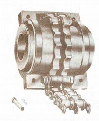 Roller Chain Flexible Coupling