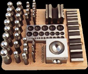 40 Pieces Dapping Punch Set With
