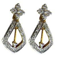 Diamond Earrings (1704-TP)