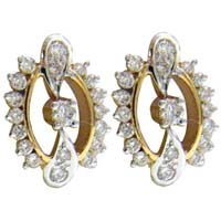 Diamond Earrings (1722-TP)