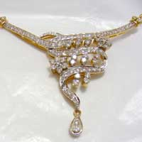 Diamond Necklace (1558-PP)