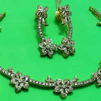 Diamond Necklace Set (1591-HS)