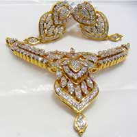 Diamond Necklace Set (1592-PST)
