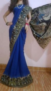 Kalamkari Silk Cotton Sarees
