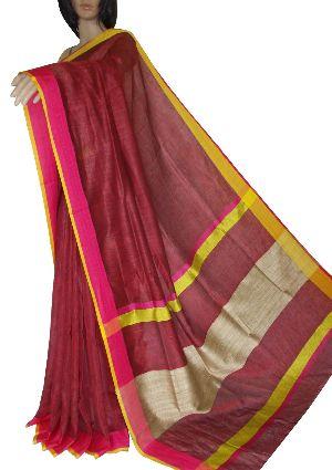 Linen By Linen Saree 01