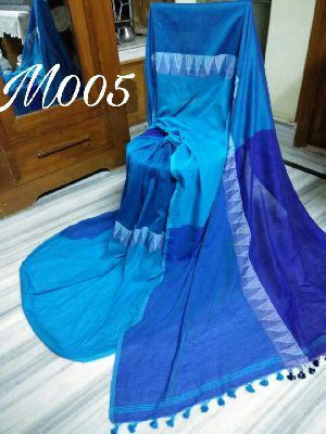 Madhyamoni Khadi Cotton Saree (M005)