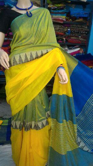 Madhyamoni Khadi Saree 01