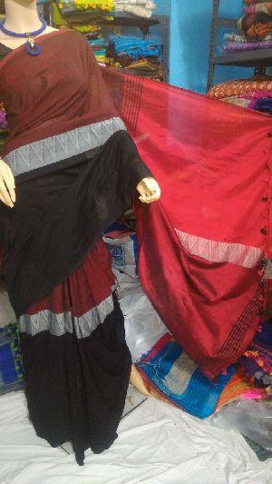 Madhyamoni Khadi Saree 03