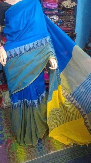 Madhyamoni Khadi Saree 05