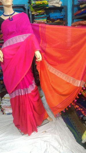 Madhyamoni Khadi Saree 06