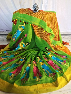 Resham Embroidery Saree 01