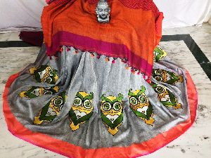 Resham Embroidery Saree 06