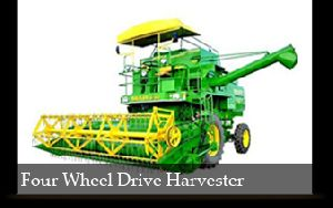 Four Wheel Drive Harvester