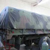 Military Truck Hood Cover