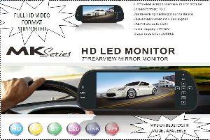 "7"" Rear View Monitor"