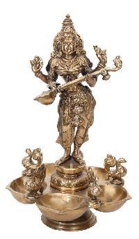Bronze Decorative Diya