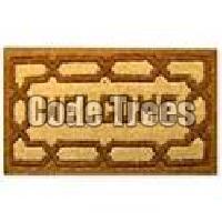Fibre Inlaid Coir Mat