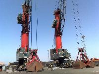 Libherr Shore Crane