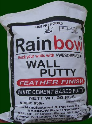 Wall Putty Based White Cement
