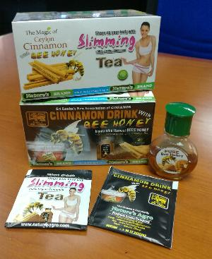 Slimming Tea with Bee Honey