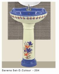 Sticker Pedestal Wash Basin