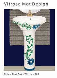 Vitrosa Met Wash Basin
