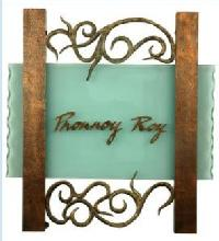 Glass Name Plate Designing 01