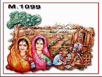 Decorative Mural (M-1099)