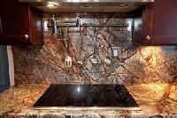 forest brown granite