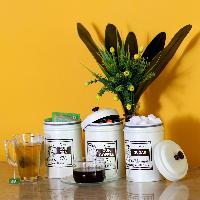 Tea Coffee & Sugar Container Sets