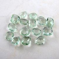Green Amethyst Irregular Shape Gemstones for Jewelry