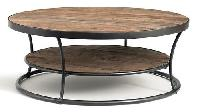 Wooden Round Coffee Table 01