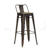 Square Bar Chair 01