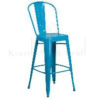 Square Bar Chair 02