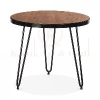 Wooden Round Coffee Table 04