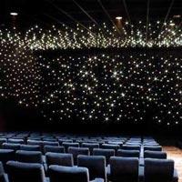 Theater Fiber Optic Light Installation